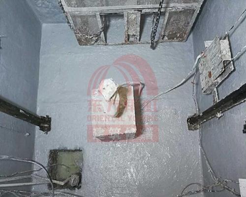 电梯井维修后