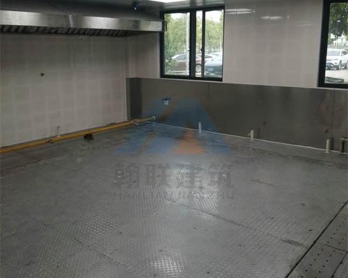 厂房厨房不锈钢地面墙面
