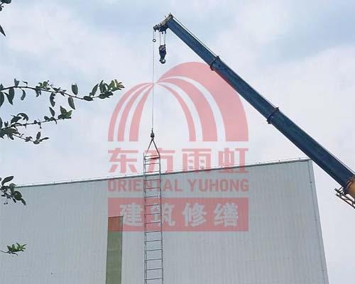 昆山某工厂高吊车做业