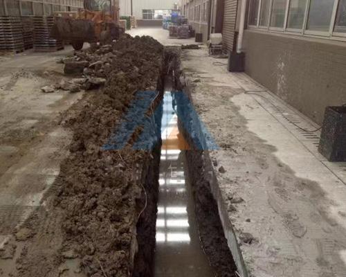 昆山某工厂污水管道改造